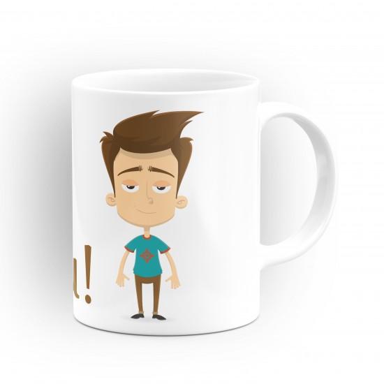 """Чаша """"Добро утро"""" - подарък за Антоновден"""