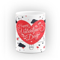"""Чаша """"Happy Valentines Day"""" - подарък за Свети Валентин"""