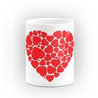 """Чаша """"Сърце от сърца"""" - подарък за Свети Валентин"""