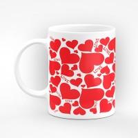 "Чаша ""Love!"" - подарък за Свети Валентин"
