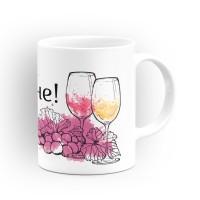 """Чаша """"Честит Имен Ден!"""" - подарък за Трифон Зарезан"""