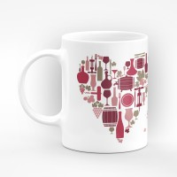 "Чаша ""Честит Свети Зарезан!"" - подарък за Трифон Зарезан и Свети Валентин"